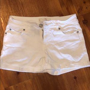 Cato white denim shorts size 4